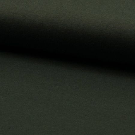 Tissu jersey lourd punto - Kaki