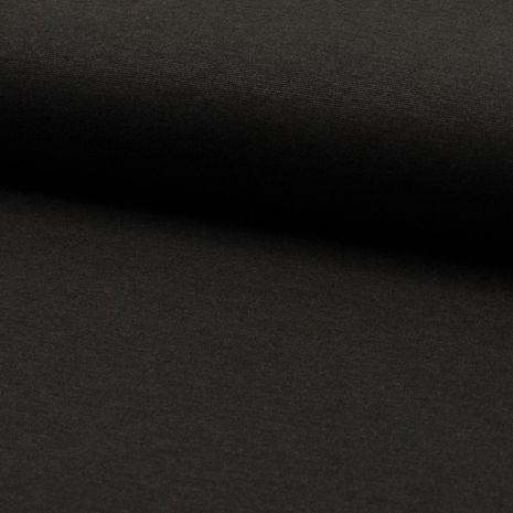 Tissu jersey lourd punto - Gris mélangé