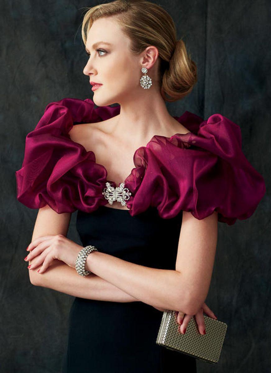 Patron de châles, boléro et écharpe - Vogue 9291 - XY