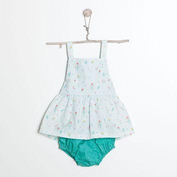 Patron de robe salopette et culotte - Katia Fabrics B6