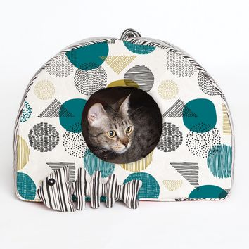 Patron de panier pour chat et poisson - Katia Fabrics P2