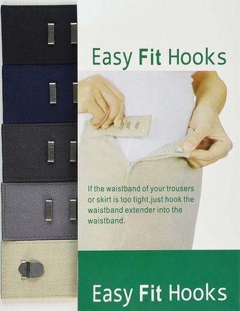 Crochets rallonge Easy Fit pour pantalons et jupes