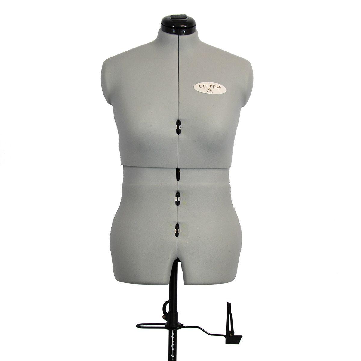 Mannequin de couture Céline sur roulettes taille 44 / 50