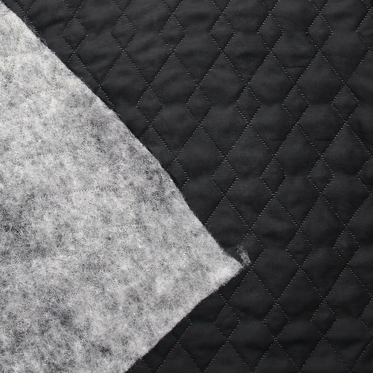Doublure matelassée - Noir