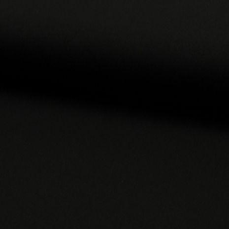 Tissu jersey viscose - Noir