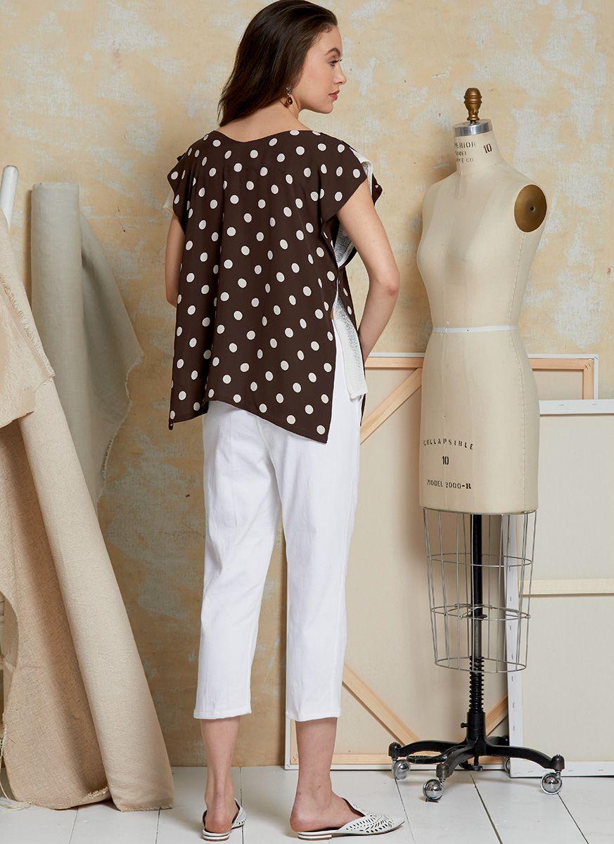 Patron de haut et pantalon - Vogue 1630
