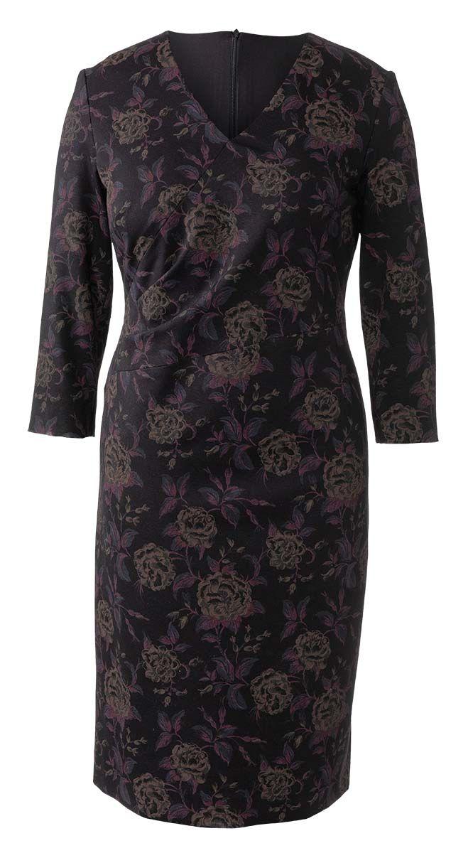 Patron de robe asymétrique - Burda 6259