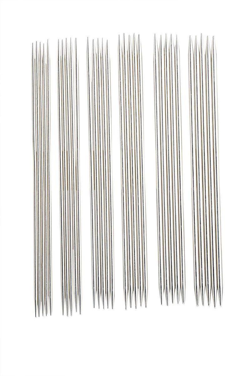 Pochette aiguilles double pointes métal Nova KnitPro