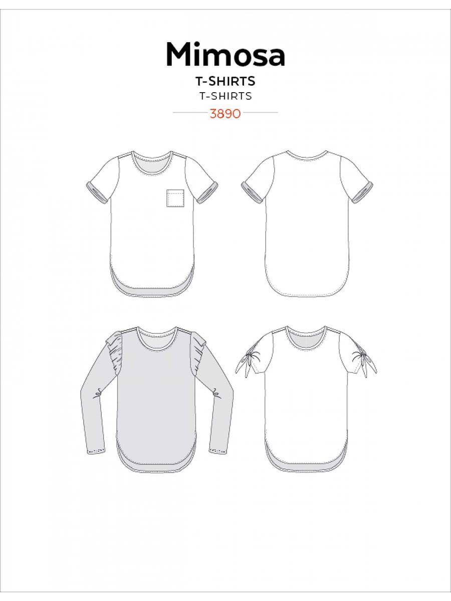 Patron de t-shirts Mimosa - Jalie 3890