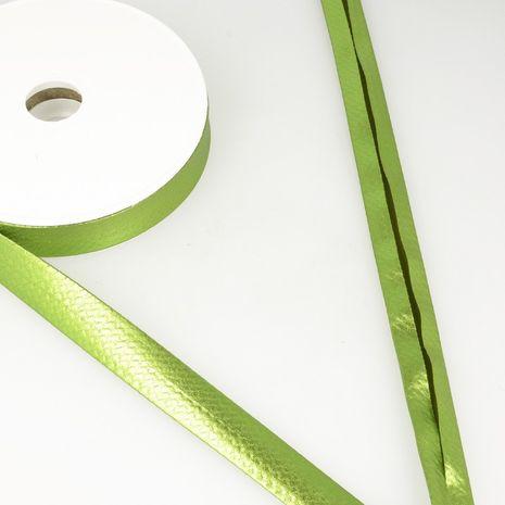 Biais lamé métallisé - Vert pomme
