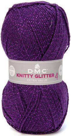 Fil à tricoter Knitty 4 Glitter DMC
