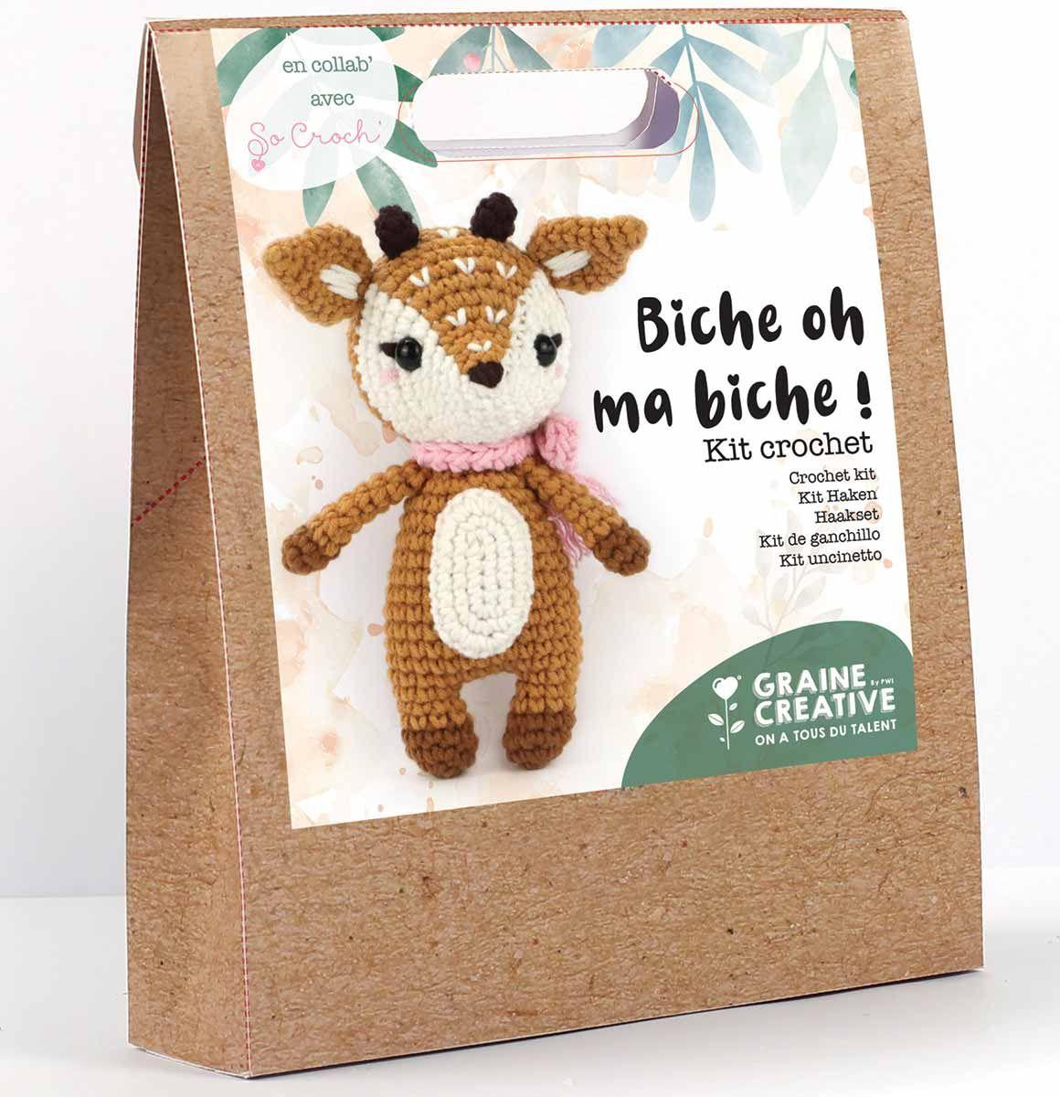 Kit crochet - Biche oh ma biche !