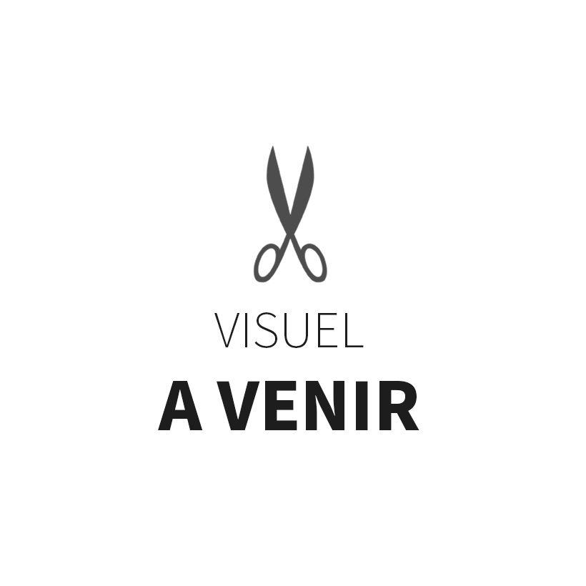 Tissu double gaze France Duval - Blanc carreaux or